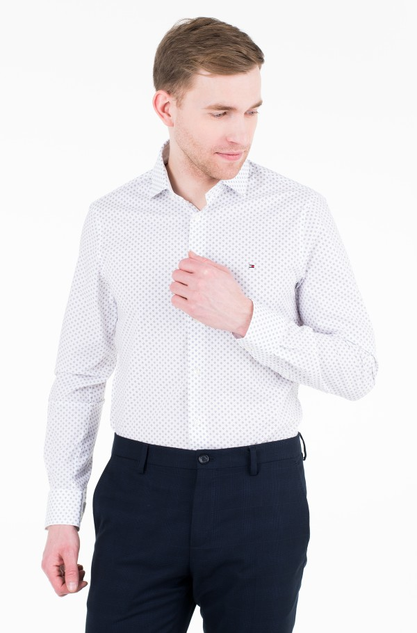 PRINT STRETCH CLASSIC SLIM SHIRT