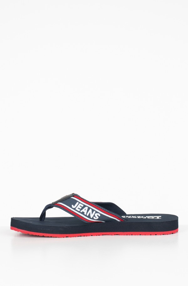 STRIPE TOMMY JEANS BEACH SANDAL-hover