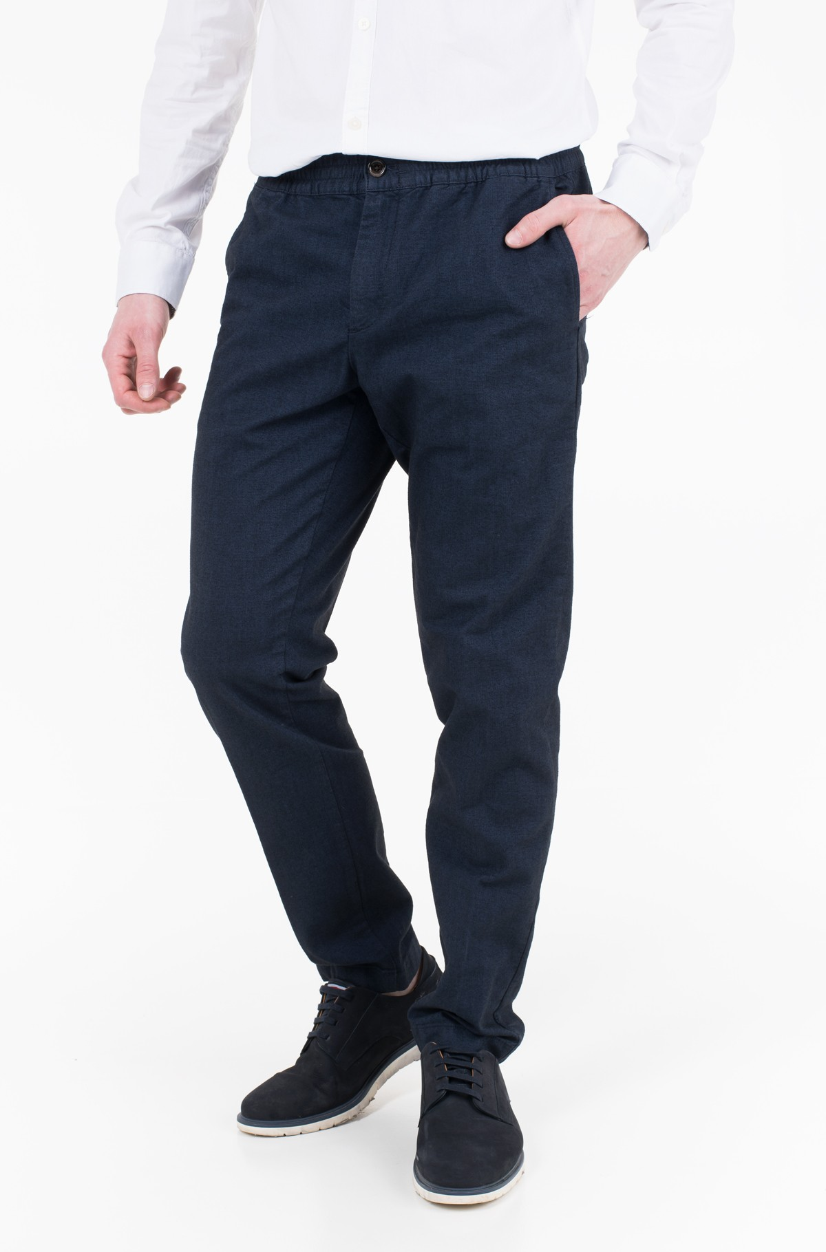 Trousers ACTIVE PANT HERRINGBONE TH FLEX	-full-1