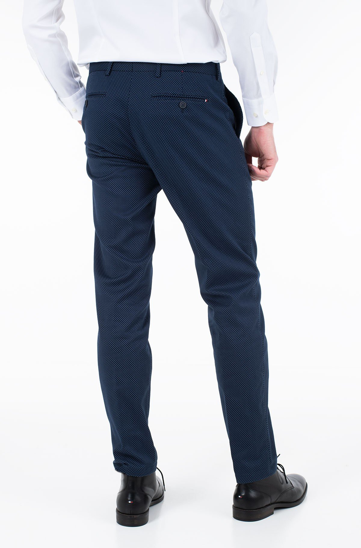 Trousers COTTON STRETCH SLIM FIT PANTS-full-2