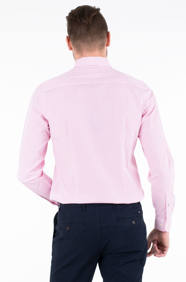 SLIM ESSENTIAL MICRO DOT SHIRT-hover