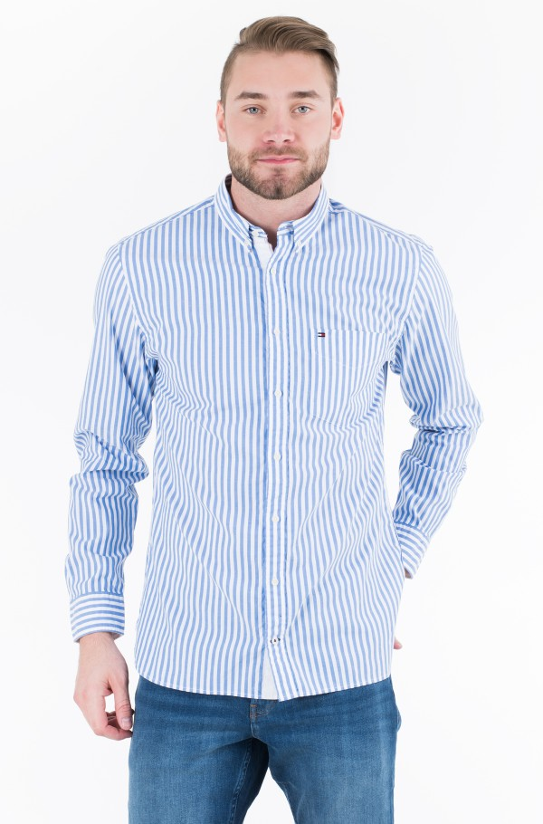 ORGANIC OXFORD STRIPE SHIRT