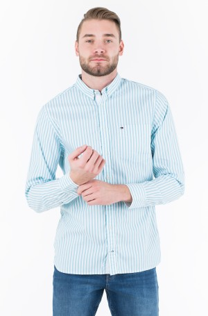 Triiksärk ORGANIC OXFORD STRIPE SHIRT	-1