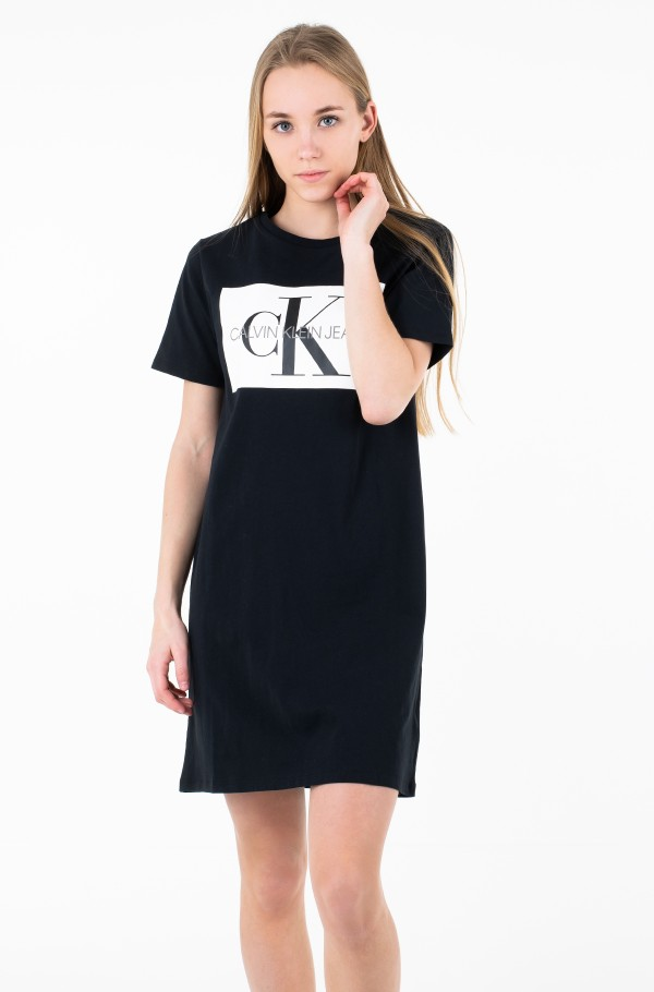 ICONIC MONOGRAM BOX TSHIRT DRESS
