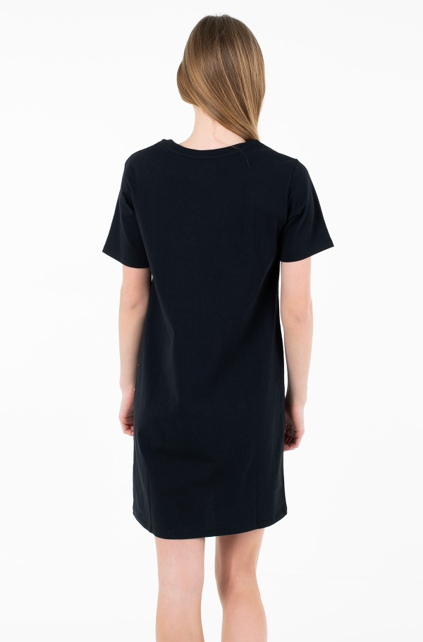 ICONIC MONOGRAM BOX TSHIRT DRESS-hover