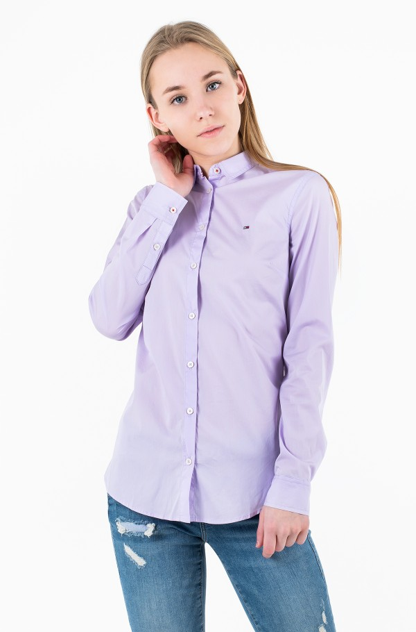 TJW SLIM FIT POPLIN SHIRT