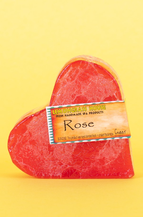 SOAP BAR ROSE 120g
