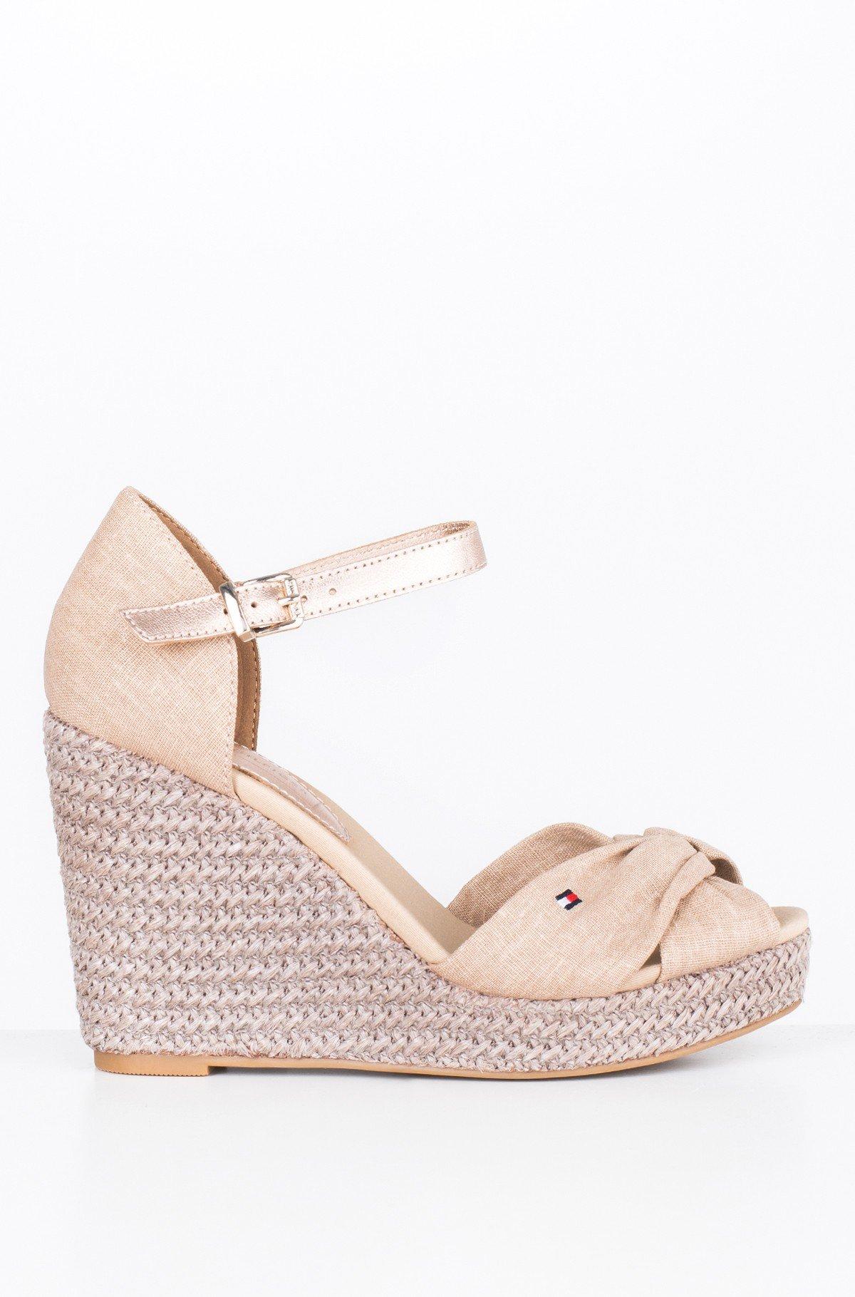 Platform shoes ICONIC ELENA METALLIC CANVAS-full-1