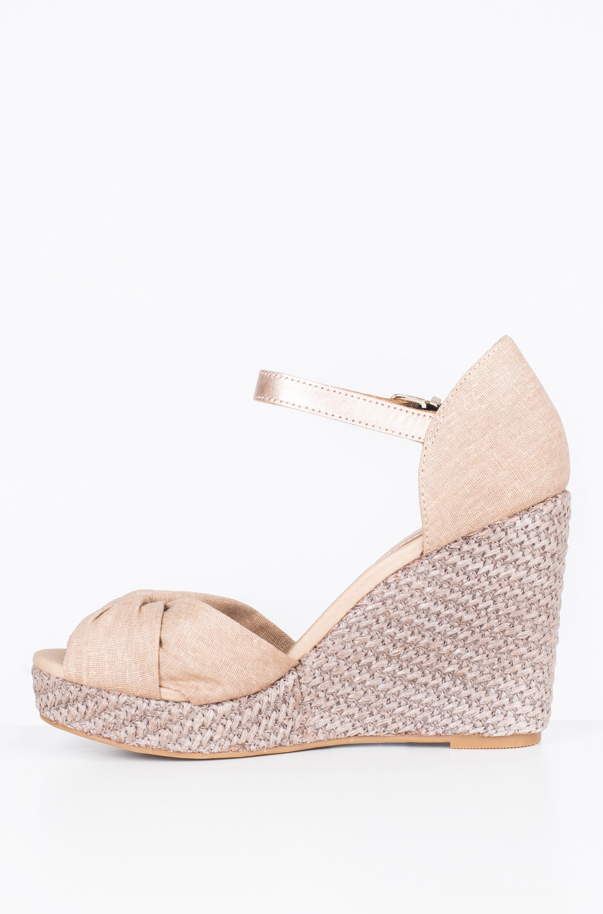 Platform shoes ICONIC ELENA METALLIC CANVAS-full-2