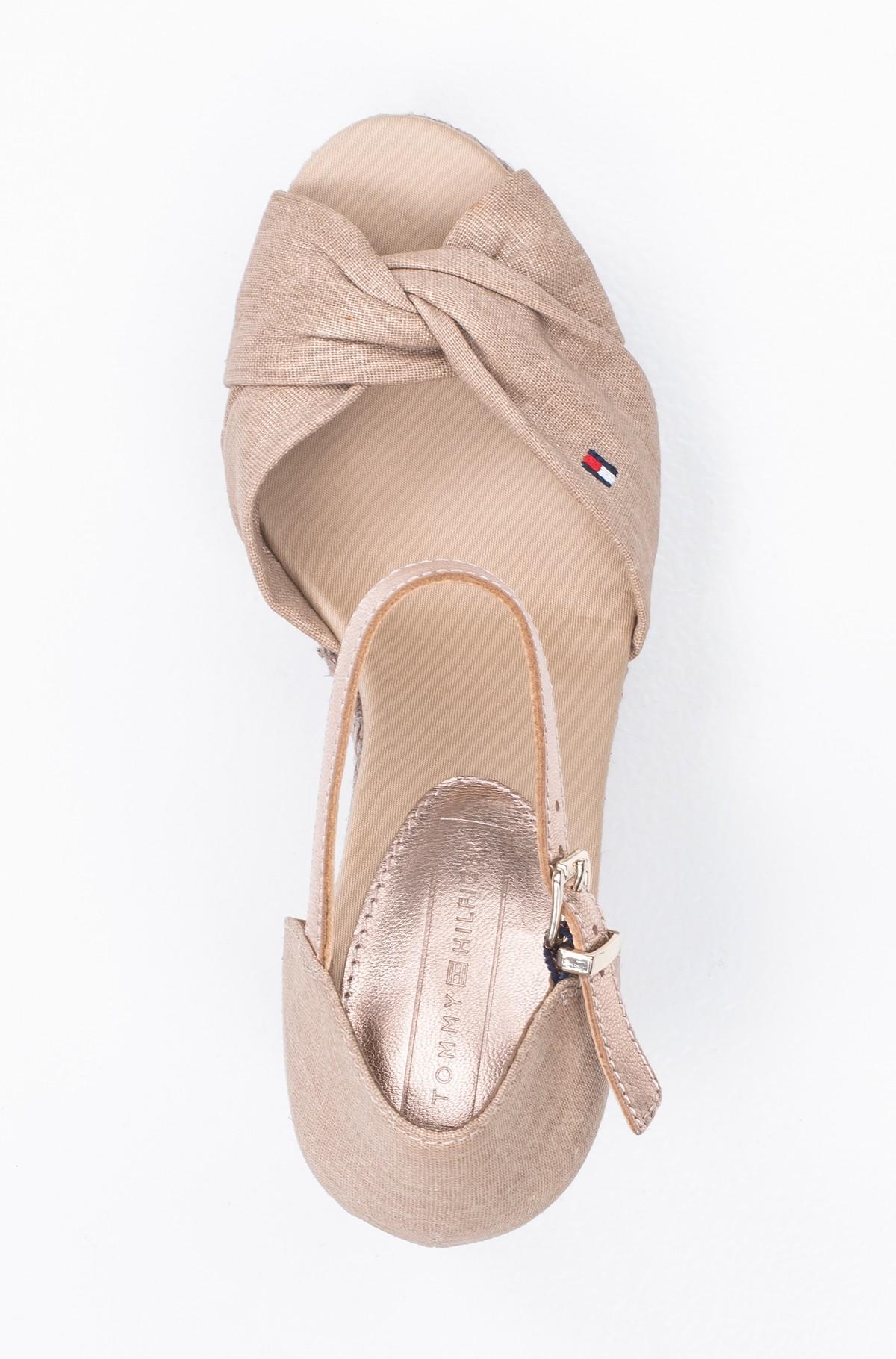 Platform shoes ICONIC ELENA METALLIC CANVAS-full-3