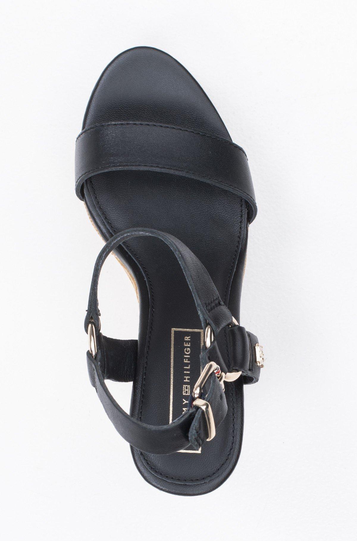Platvormkingad Elevated Leather Wedge Sandal-full-3