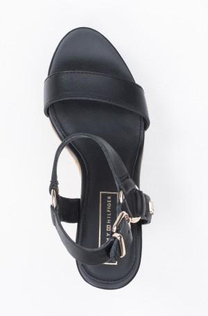 Platvormkingad Elevated Leather Wedge Sandal-3