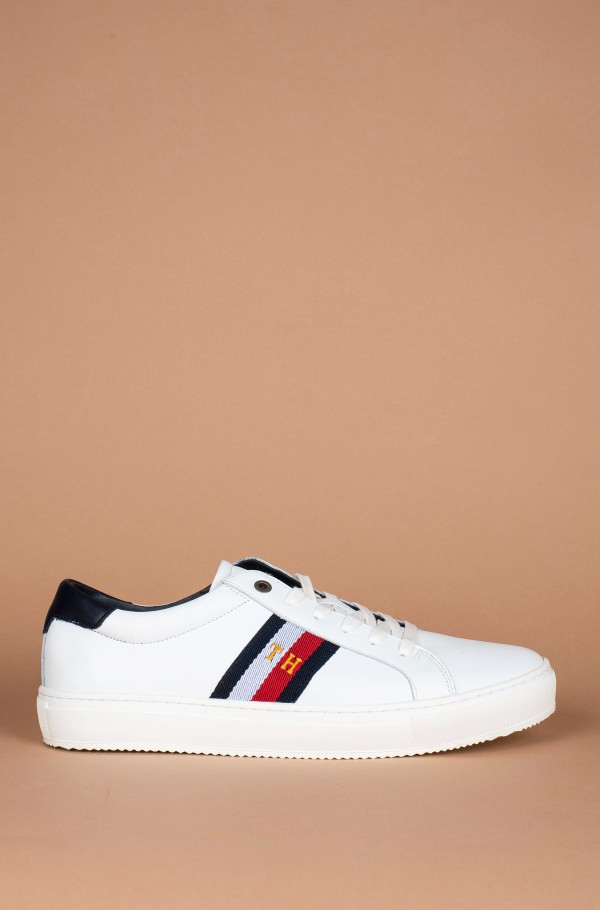 CORPORATE LEATHER DETAIL SNEAKER