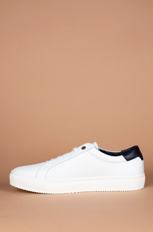 CORPORATE LEATHER DETAIL SNEAKER-hover