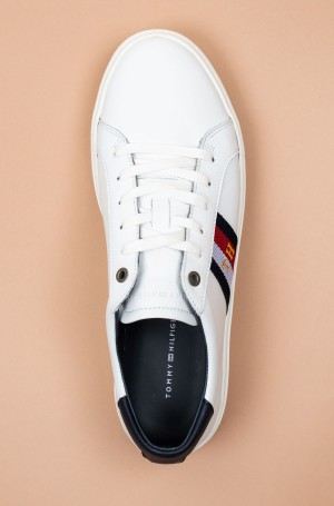 Casual shoes CORPORATE LEATHER DETAIL SNEAKER-3