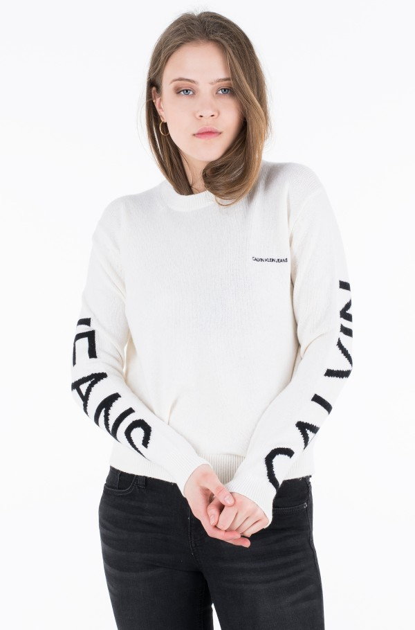 INSTITUTIONAL BACK LOGO SWEATER