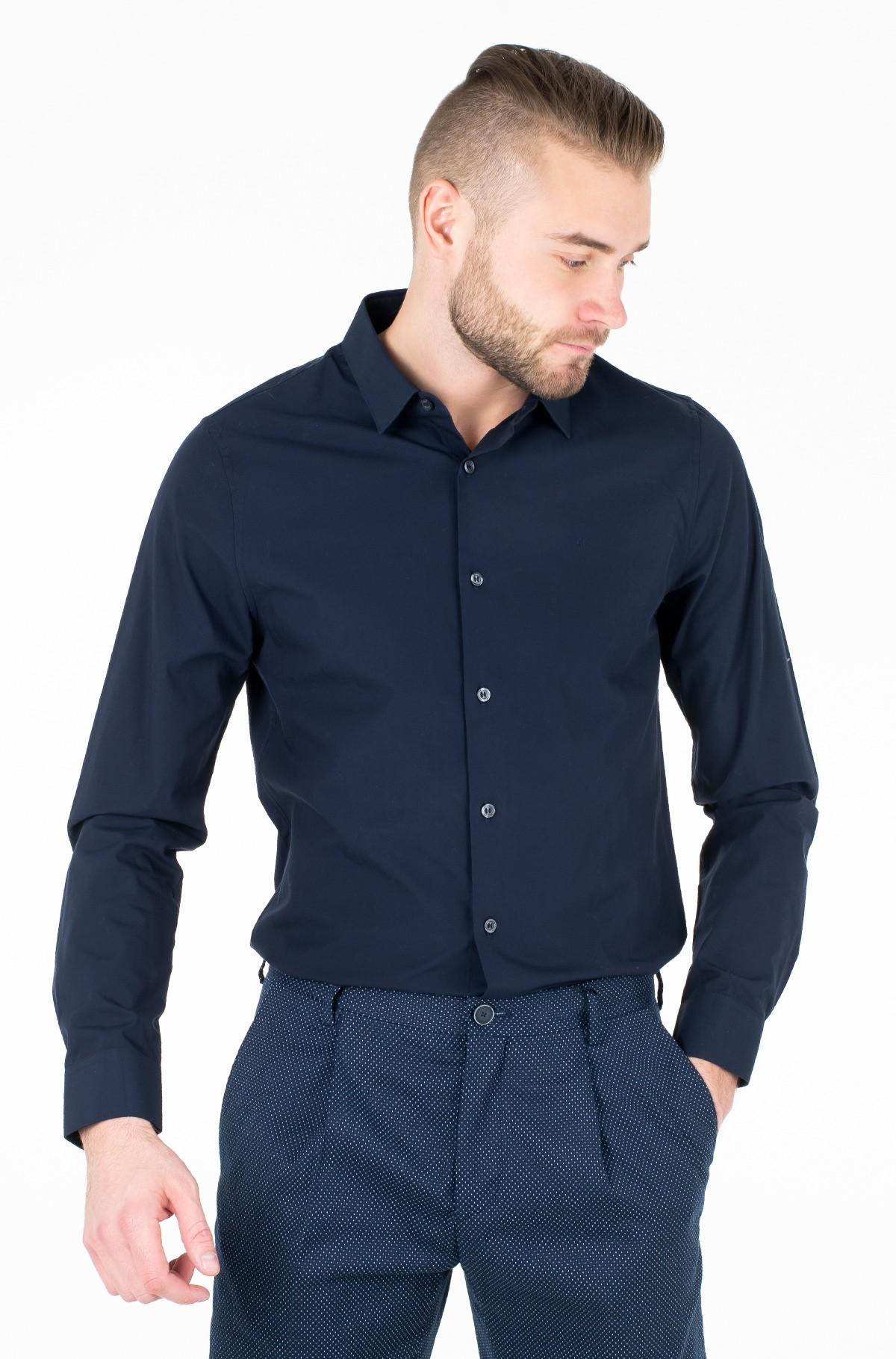 Marškiniai CK SLIM STRETCH SHIRT-full-1