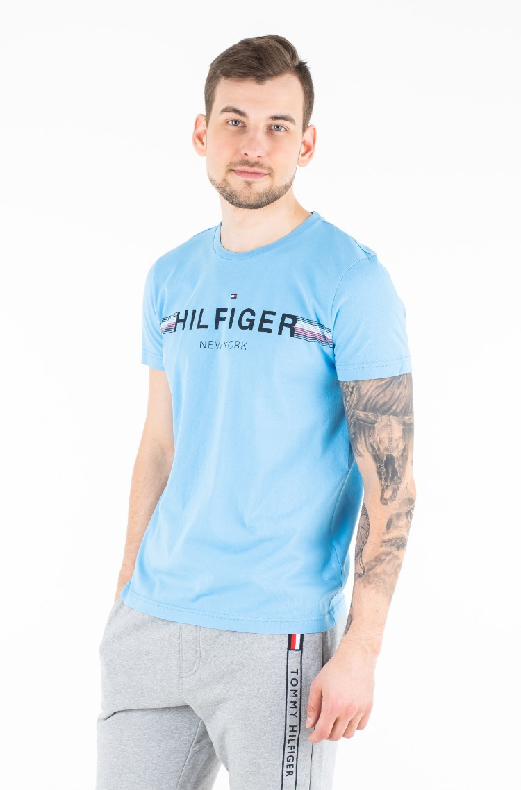 c9fcb11e T-shirt CORP FLAG TEE Tommy Hilfiger, Mens Short-sleeved | Denim ...