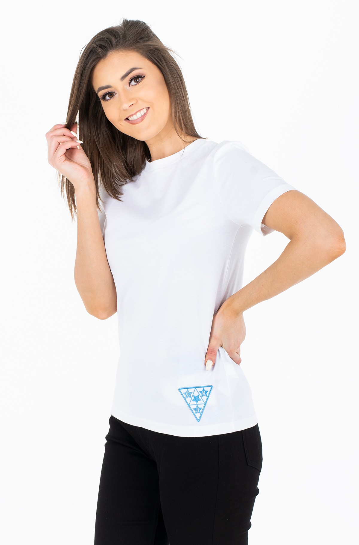 Marškinėliai Badge Tee-full-1