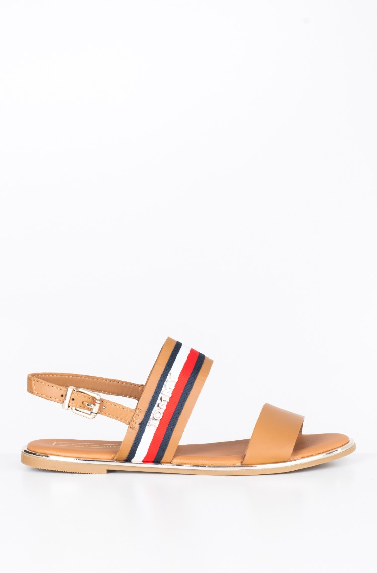 a94aa6977 Sandals FLAT SANDAL CORPORATE RIBBON Tommy Hilfiger