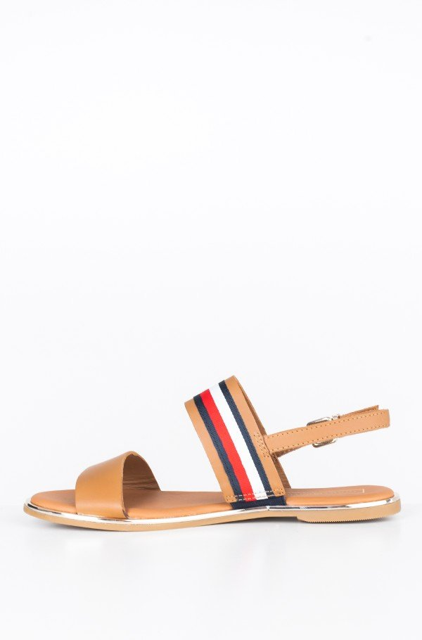 FLAT SANDAL CORPORATE RIBBON-hover