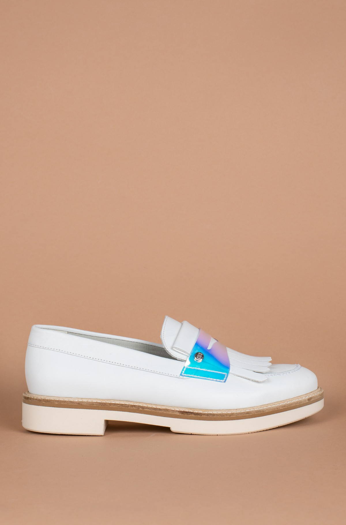 Vabaaja jalanõud IRIDESCENT DETAIL LOAFER	-full-1