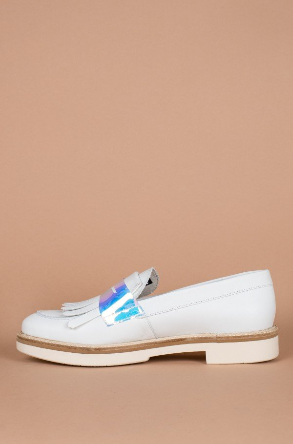 IRIDESCENT DETAIL LOAFER-hover