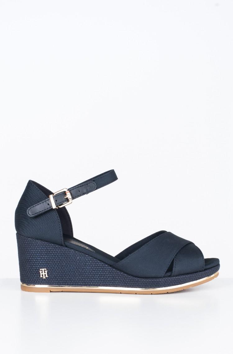 8335bc7a48 Platform shoes FEMININE MID WEDGE SANDAL BASIC Tommy Hilfiger ...