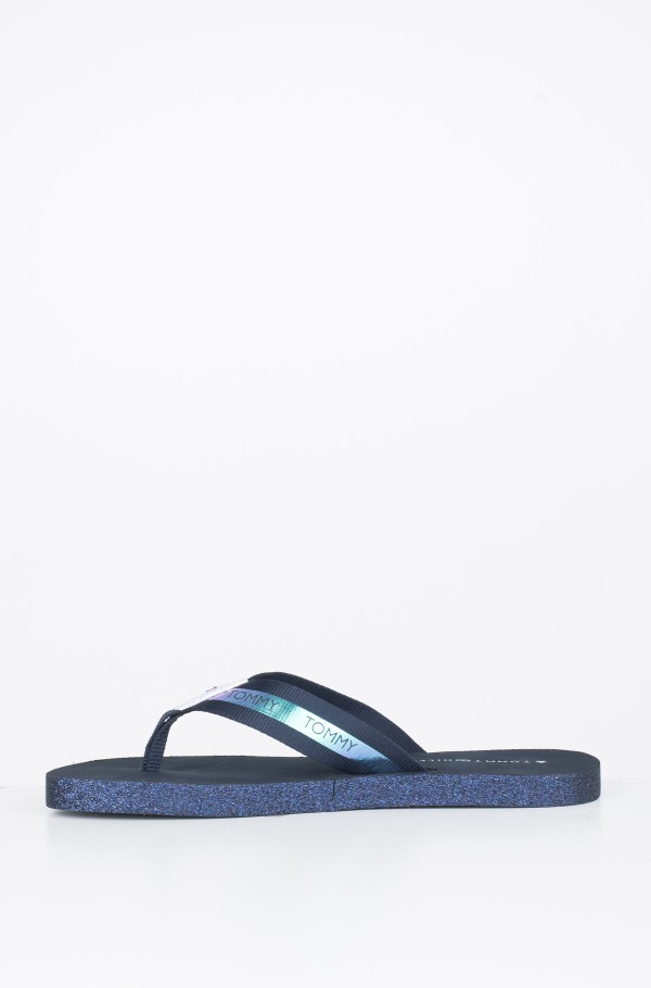 FLAT BEACH SANDAL IRIDESCENT-hover