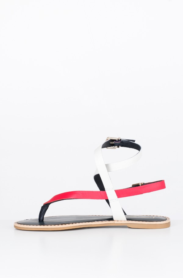ICONIC FLAT STRAPPY SANDAL-hover
