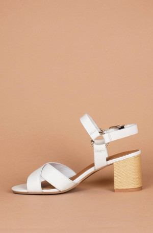 Shoes ELEVATED LEATHER HEELED SANDAL-2