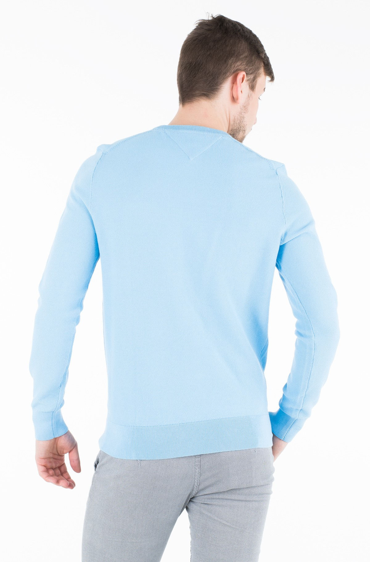 Sviiter FINE STRUCTURED CREW NECK	-full-2