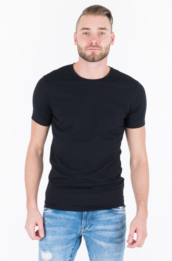 CKJ EMBRO STRETCH SLIM TEE