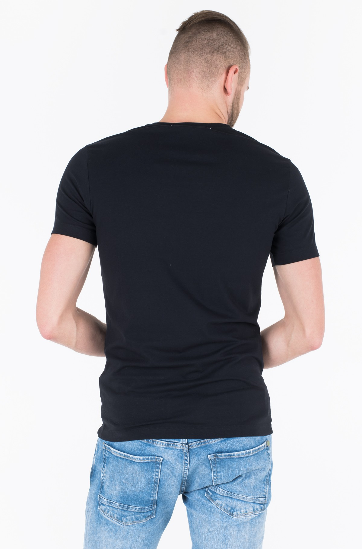 T-shirt CKJ EMBRO STRETCH SLIM TEE-full-2