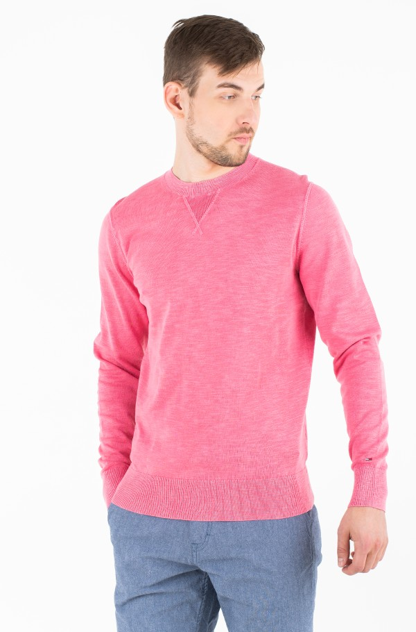 PASTEL GARMENT DYED SWEATER