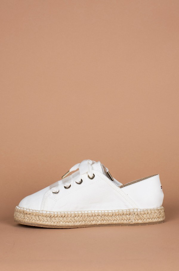 FLAT ESPADRILLE CORPORATE RIBBON-hover