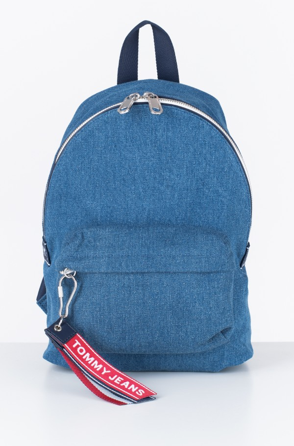 TJU LOGOTAPE MINI BACKPACK DENIM