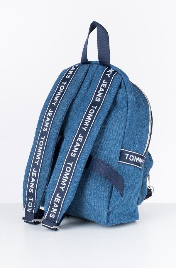 TJU LOGOTAPE MINI BACKPACK DENIM-hover