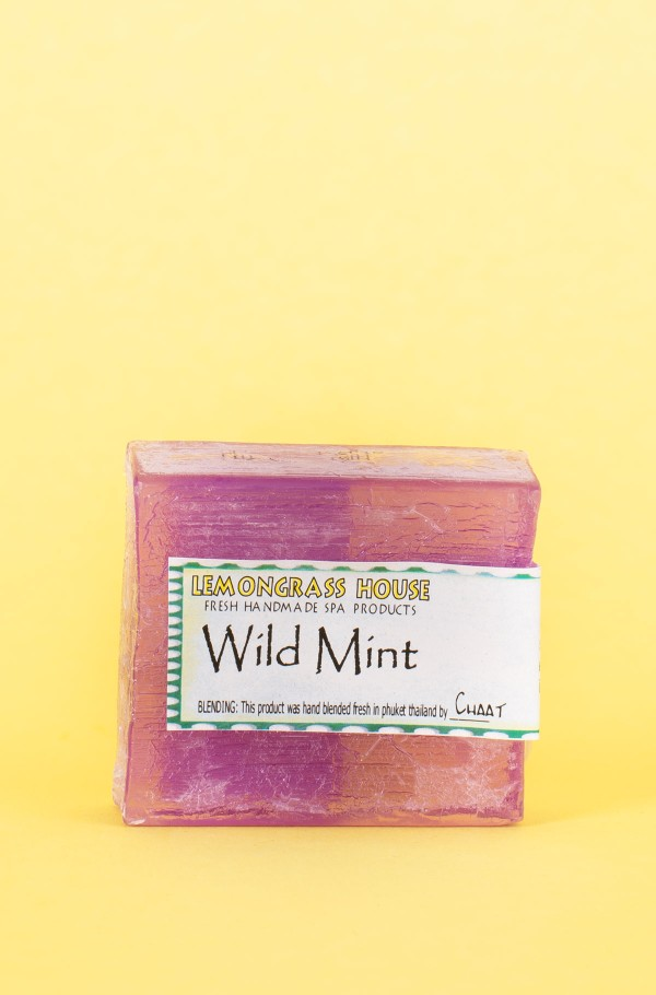 SOAP BAR WILD MINT 75 G