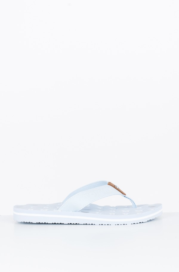 FLAT BEACH SANDAL EMBOSSED