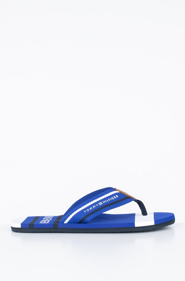STRIPED BEACH SANDAL