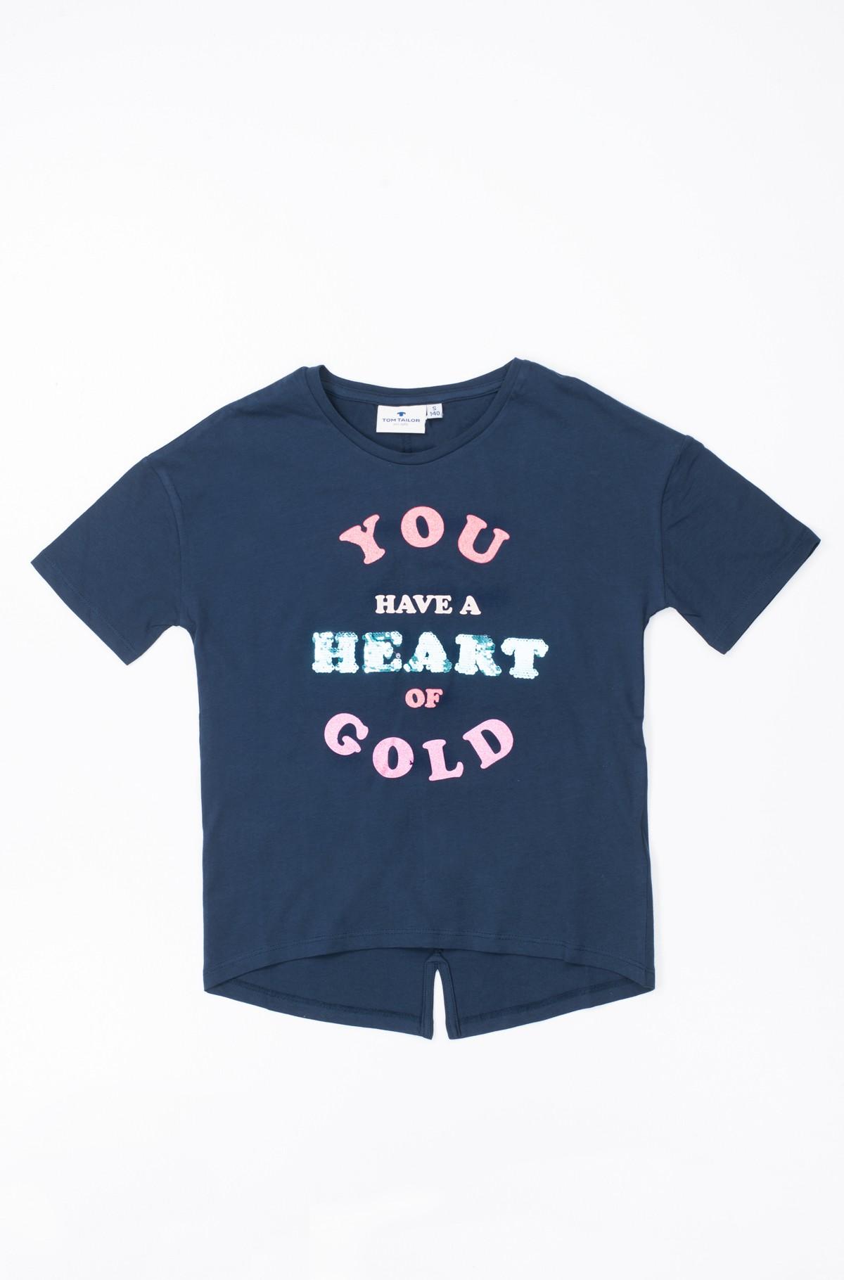 Vaikiški marškinėliai trumpomis rankovėmis 10903080040-full-1