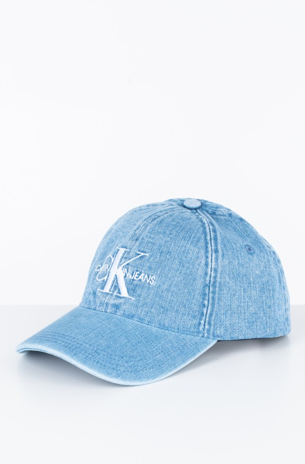 J MONOGRAM DENIM CAP W