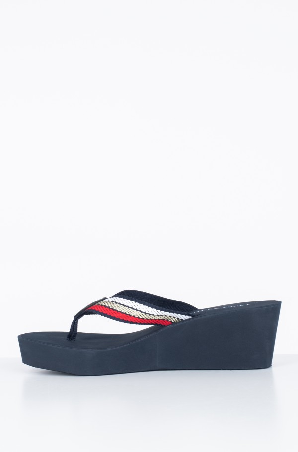 ICONIC WEDGE BEACH SANDAL-hover