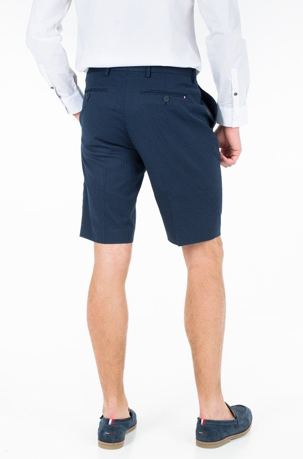 COTTON STRETCH  SLIM FIT SHORTS-hover
