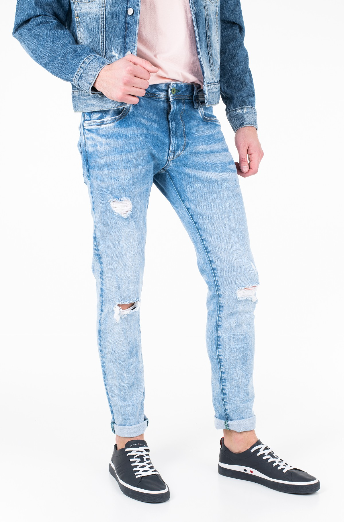 Jeans STANLEY DISTRESSED ECO/PM204843-full-1