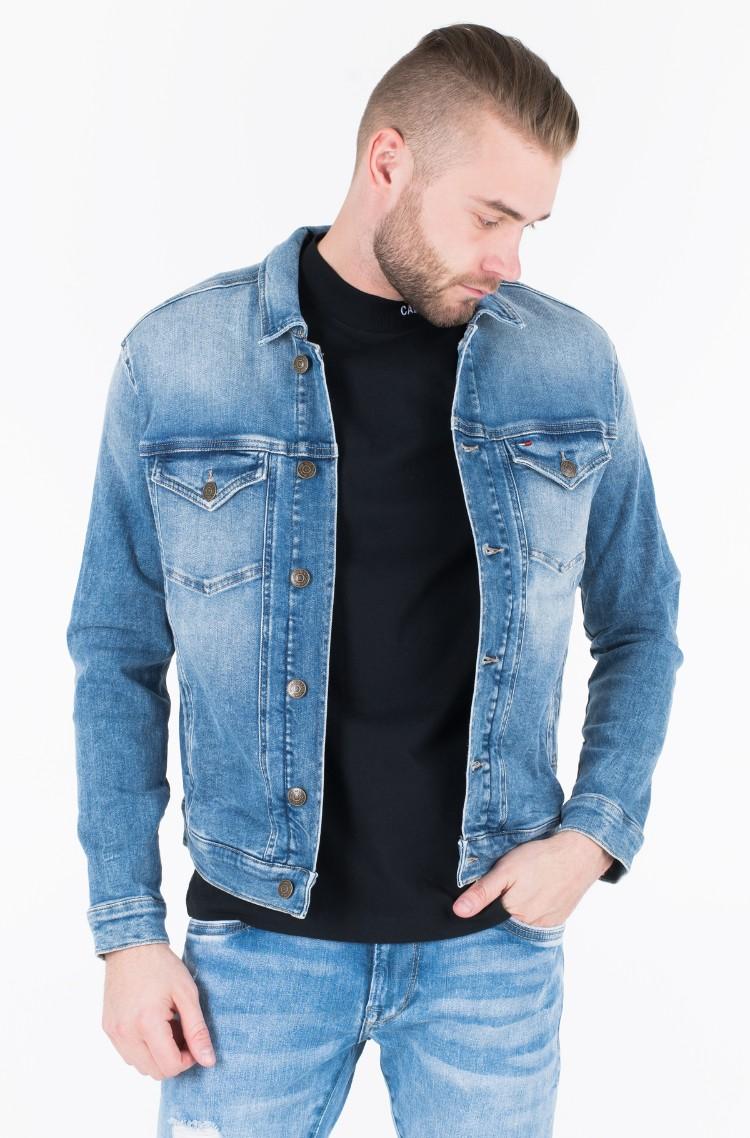 b68da94c Denim jacket REGULAR TRUCKER JACKET Tommy Jeans, Mens Jeans jackets ...