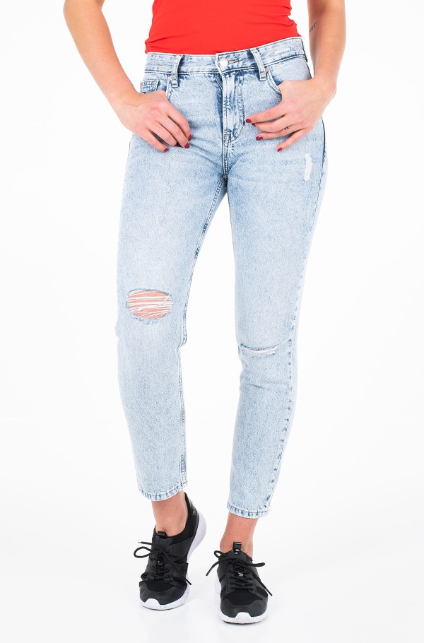 HIGH RISE SLIM IZZY CROP TJSLVR