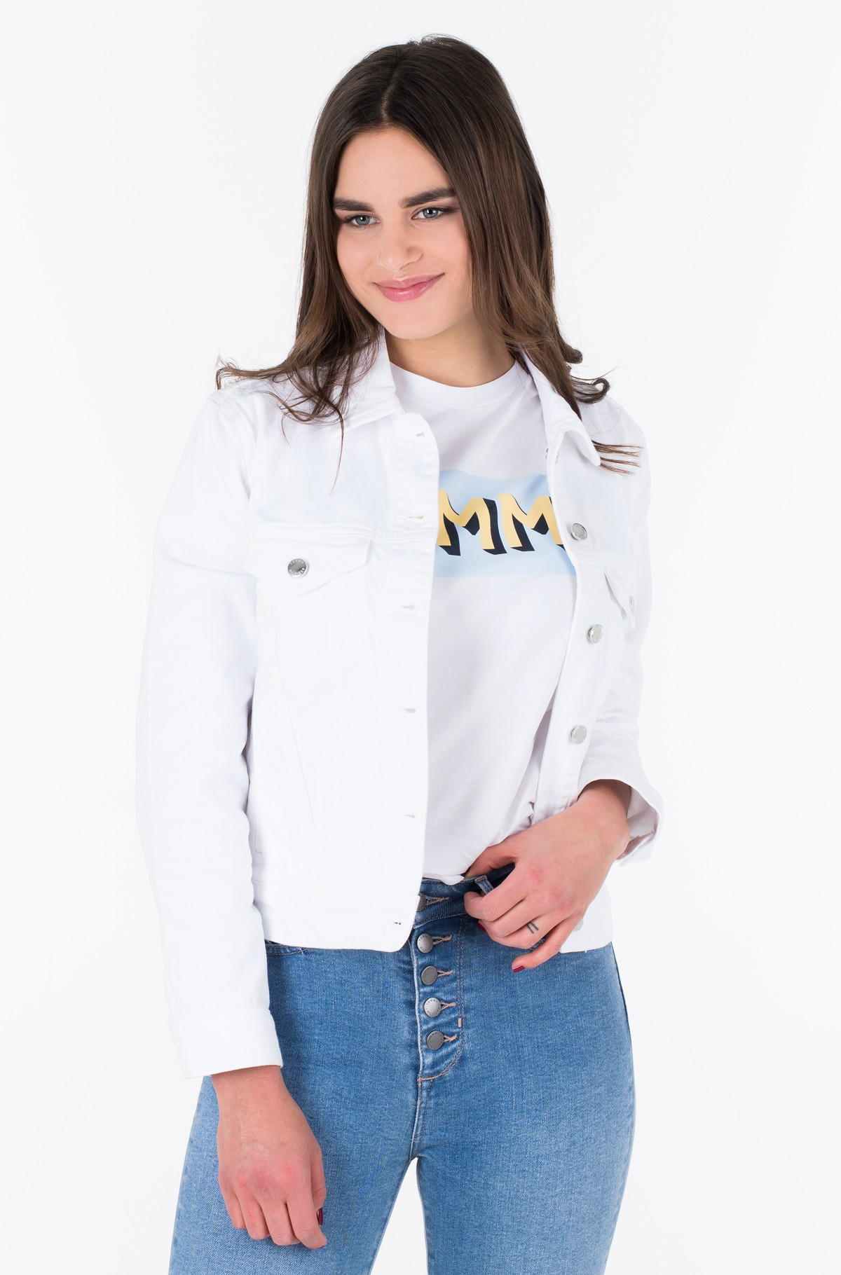 Denim jacket VERONICA JACKET CLR-full-1