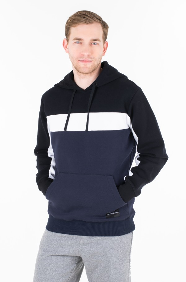 COLOR BLOCKING HOODIE